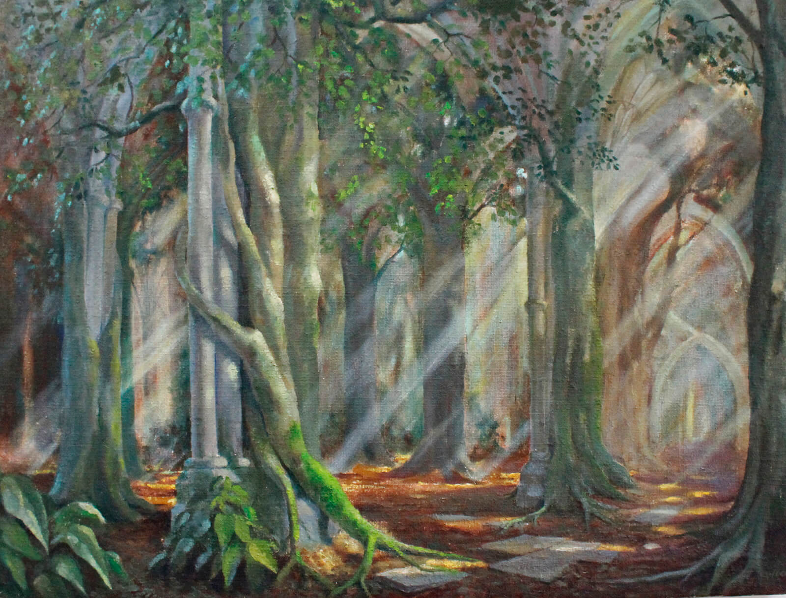 Cathedral forest artwork