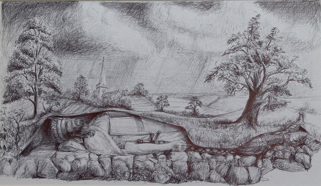 Sleeping King artwork