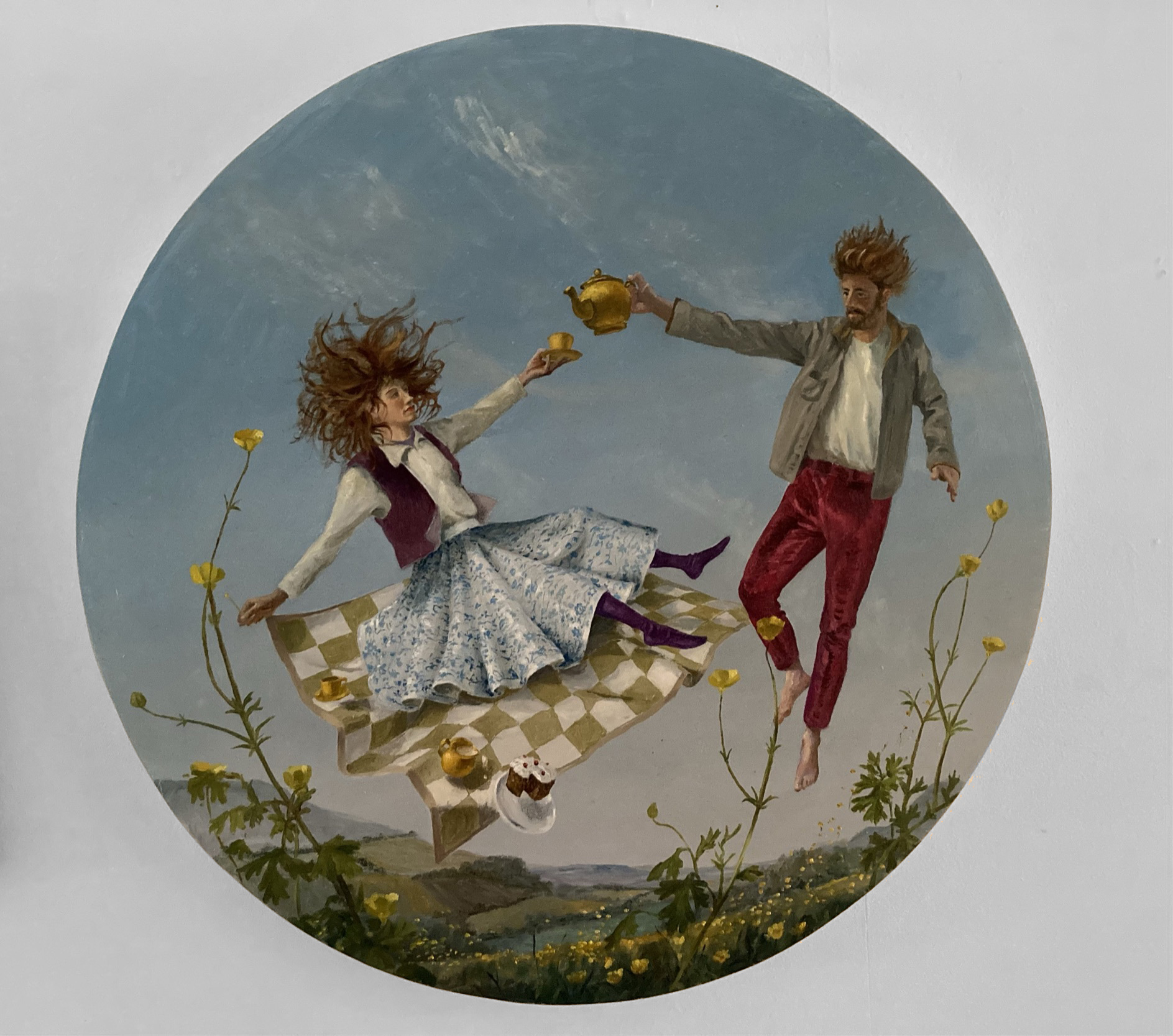 Annunciation Among the Buttercups artwork